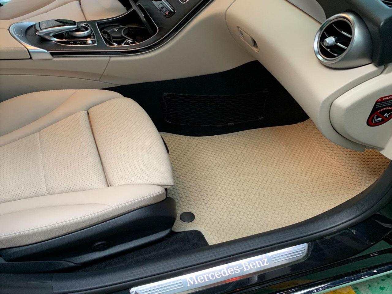 Thảm lót sàn Mercedes C200 Màu Beige