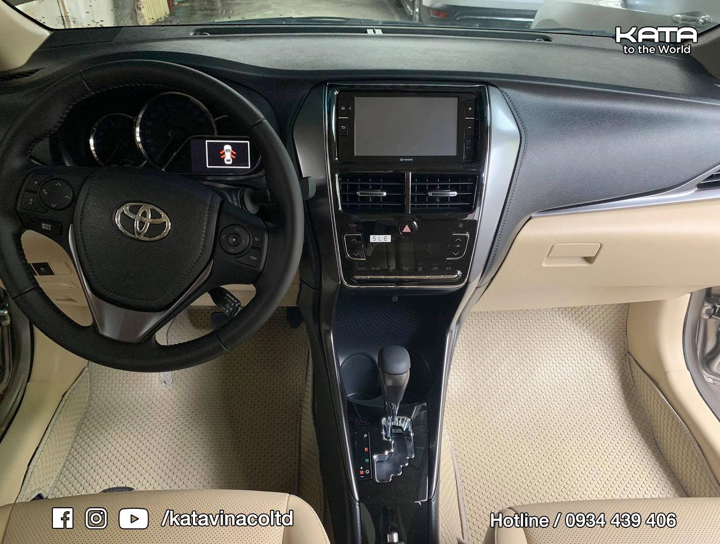 Thảm lót sàn Toyota Vios 2020