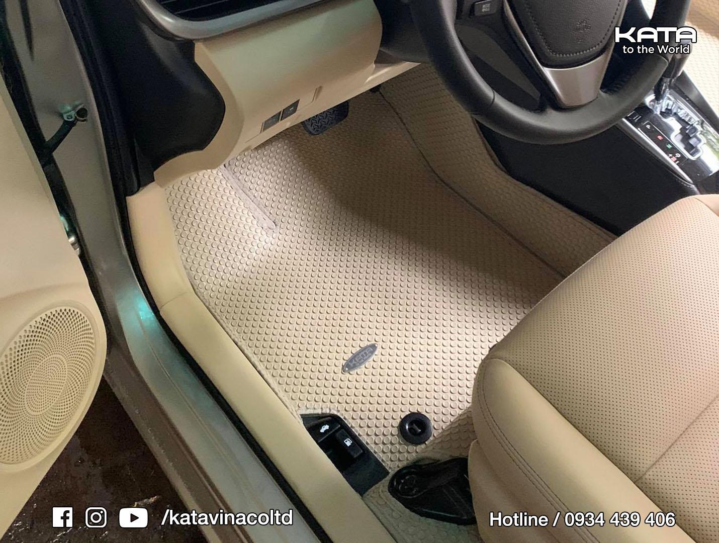 Thảm lót sàn Toyota Vios 2021