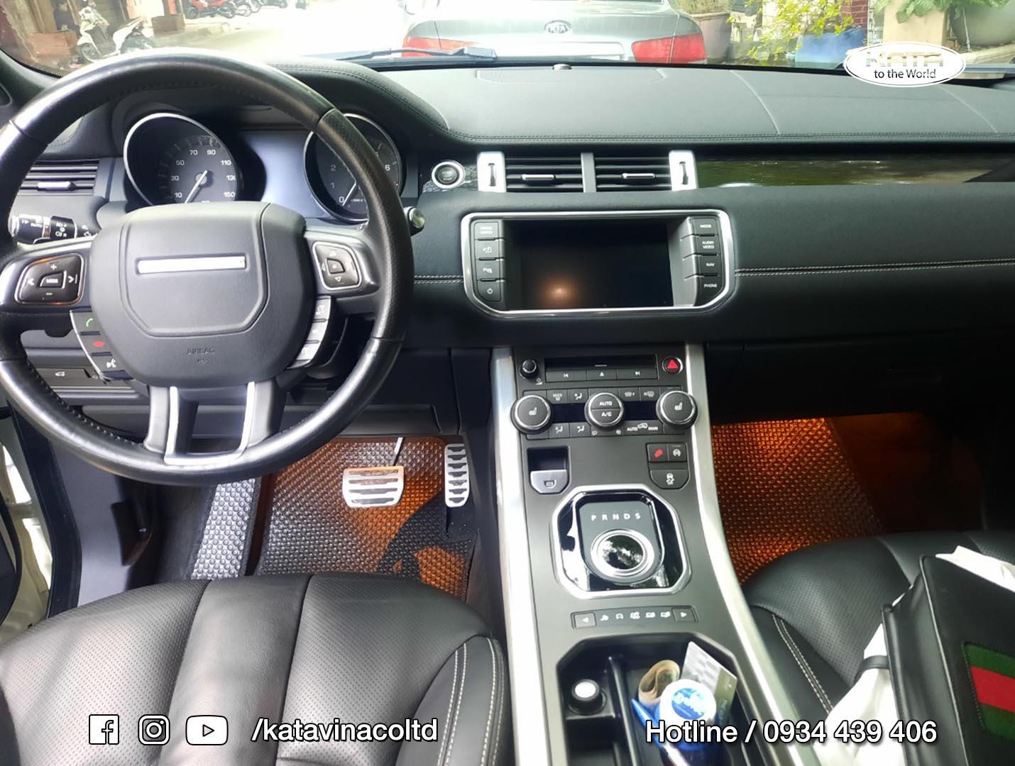 Thảm lót sàn Range Rover Evoque