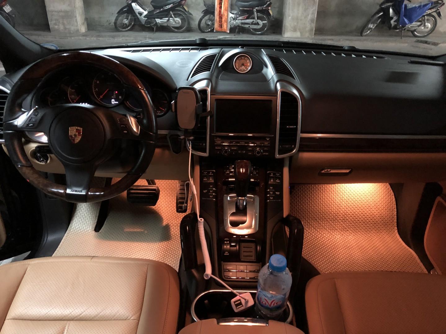 Thảm lót sàn Porsche Cayenne 2014 2015
