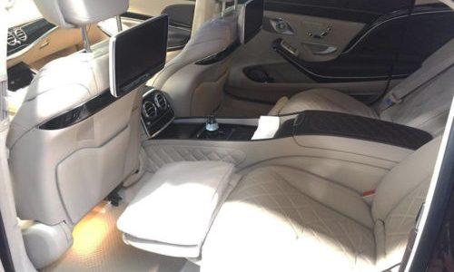 Thảm lót sàn Mercedes S Maybach