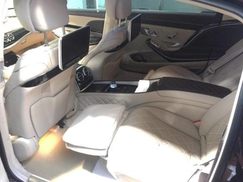 Thảm lót sàn ô tô Mercedes Maybach