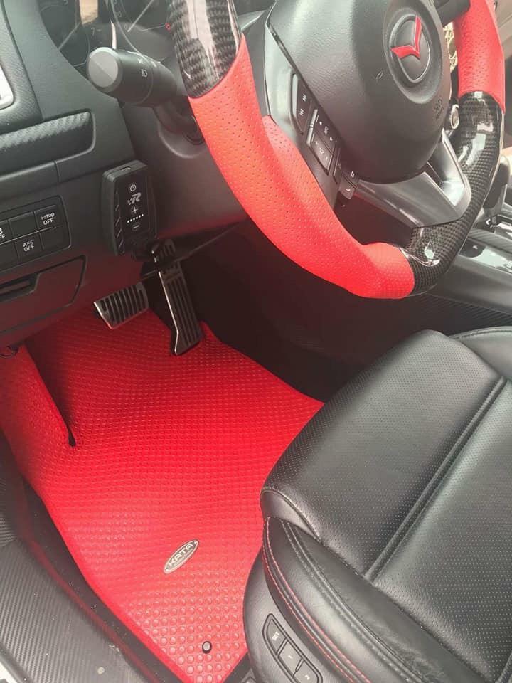 Thảm lót sàn Mazda 6 phiên bản Đỏ