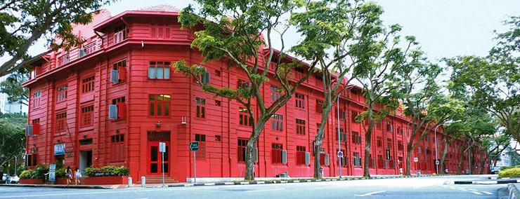 Bảo tàng thiết kế Red Dot tại Singapore