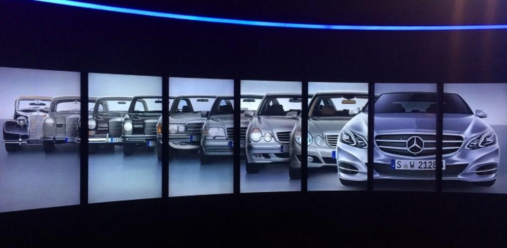 Các thế hệ khác nhau Mercedes