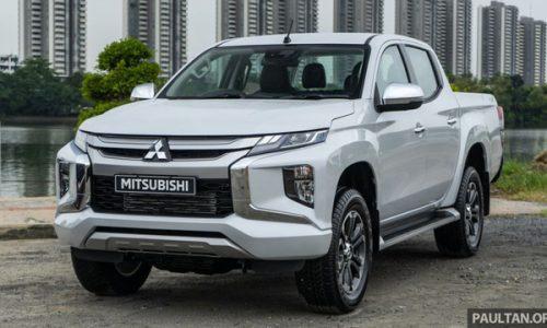 Thảm lót sàn Mitsubishi Triton 2019
