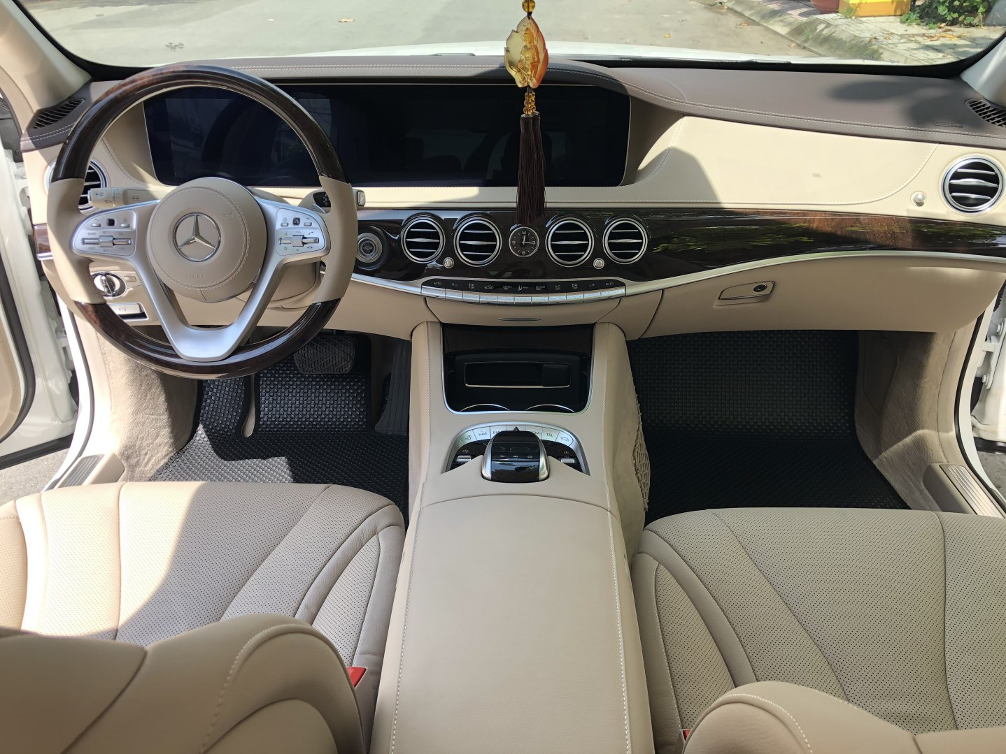 Thảm lót sàn BackLiners Mercedes S W222 2020