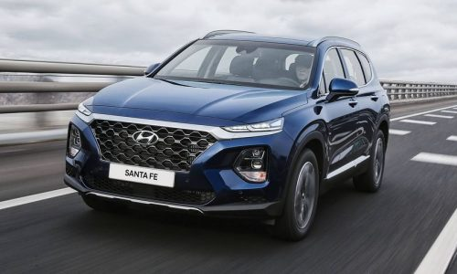 Thảm lót sàn Hyundai Santafe 2019