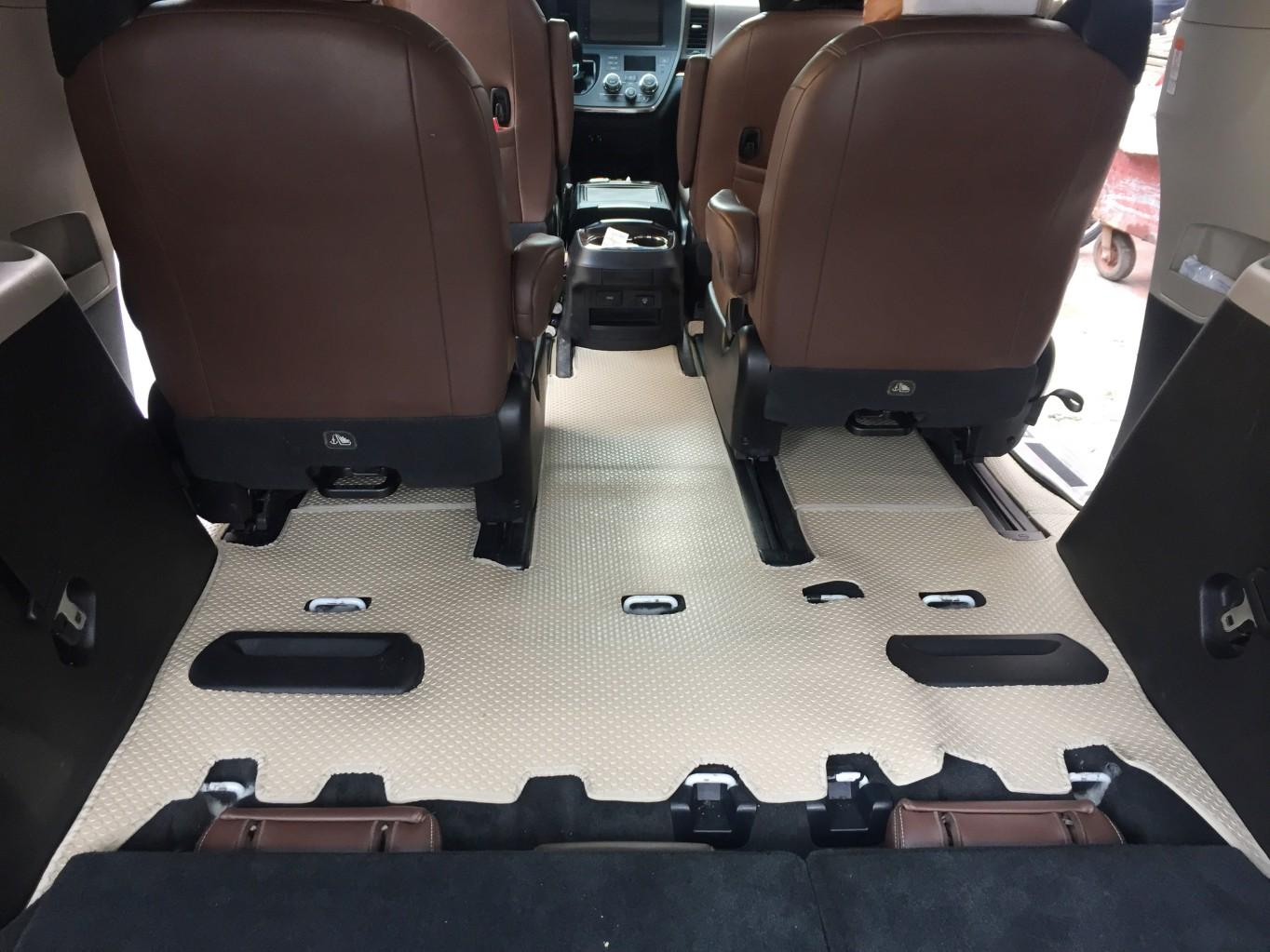 Thảm lót sàn Toyota Sienna 2019