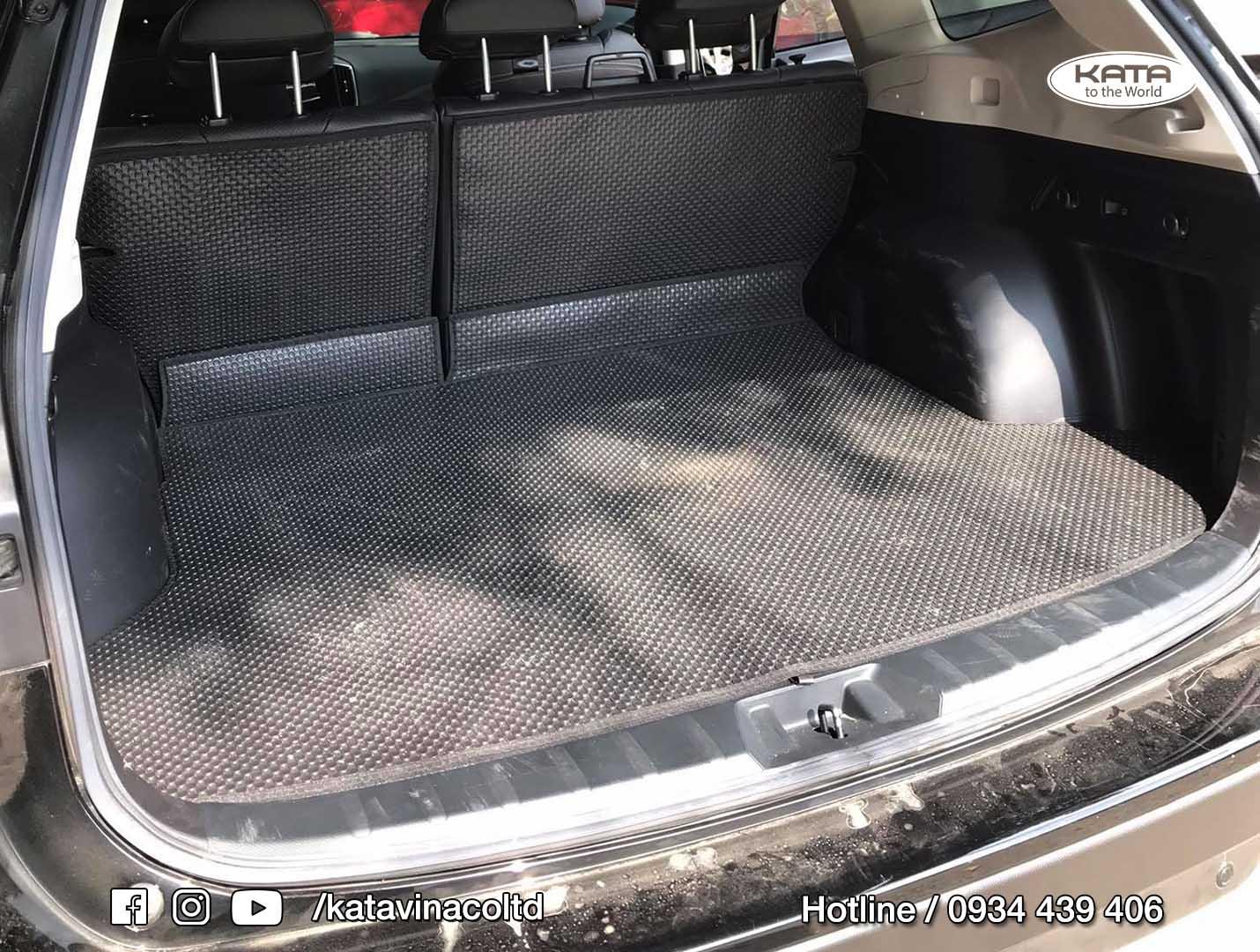 Thảm lót lưng ghế hàng 2 Subaru Forester 2021