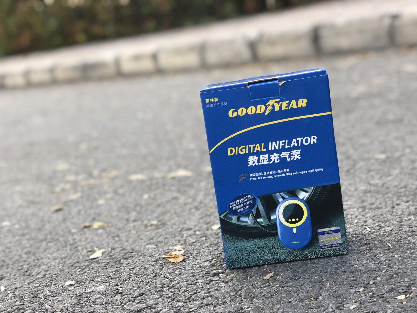 Bơm lốp mini Goodyear GY-3301