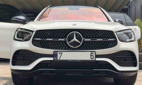 Thảm lót sàn Mercedes GLC 2020