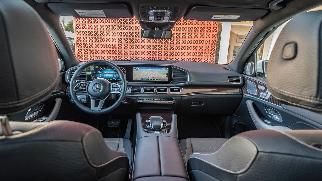 Nội thất Mercedes-Benz GLE 2020