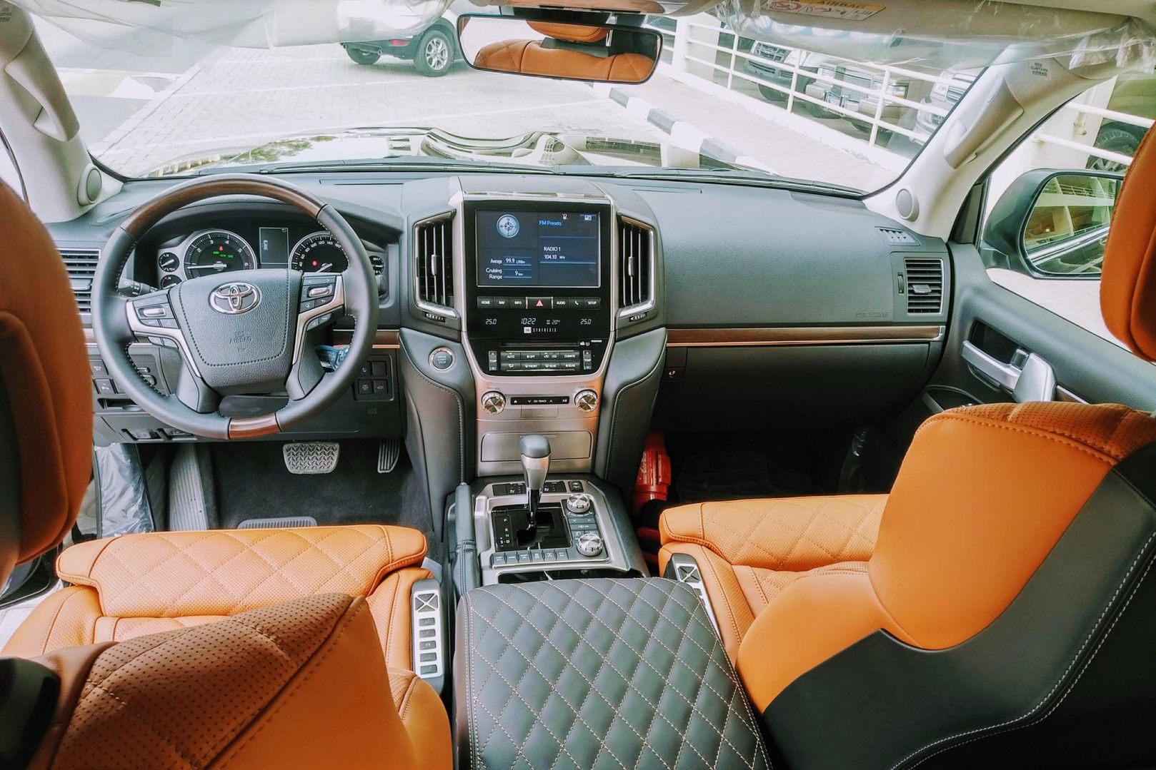 Toyota Land Cruiser MBS VXR