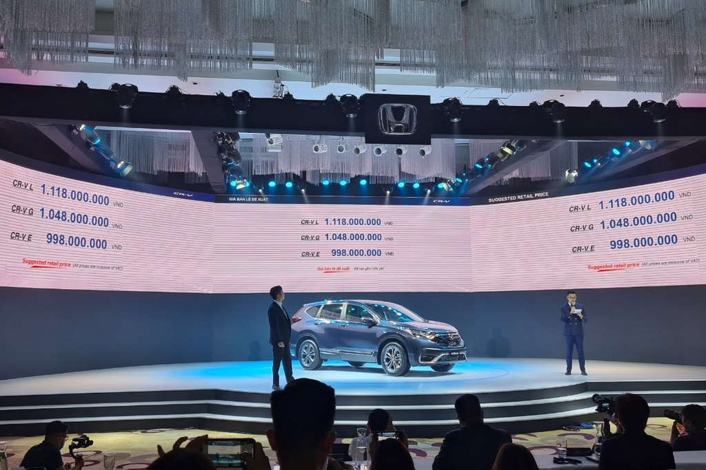 Honda CRV 2020 lắp ráp