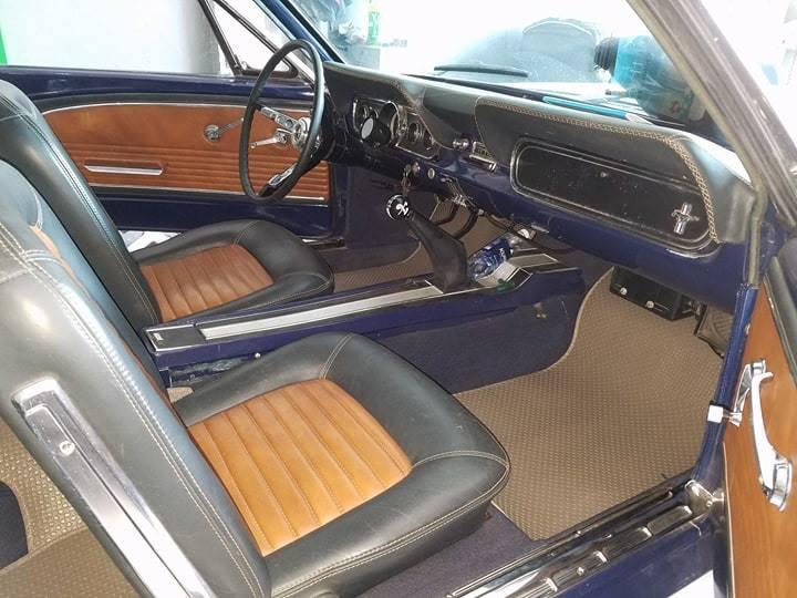 Thảm lót sàn Ford Mustang 1967 Màu nâu