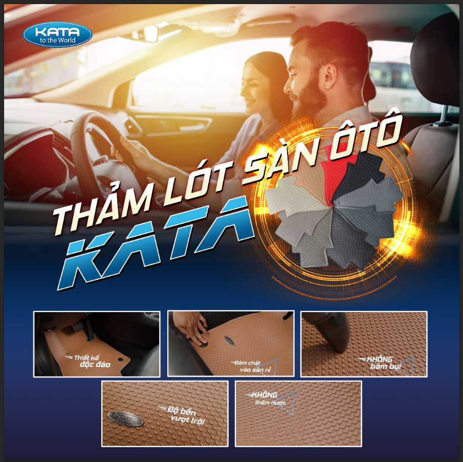 Thảm lót sàn ô tô KATA chính hãng