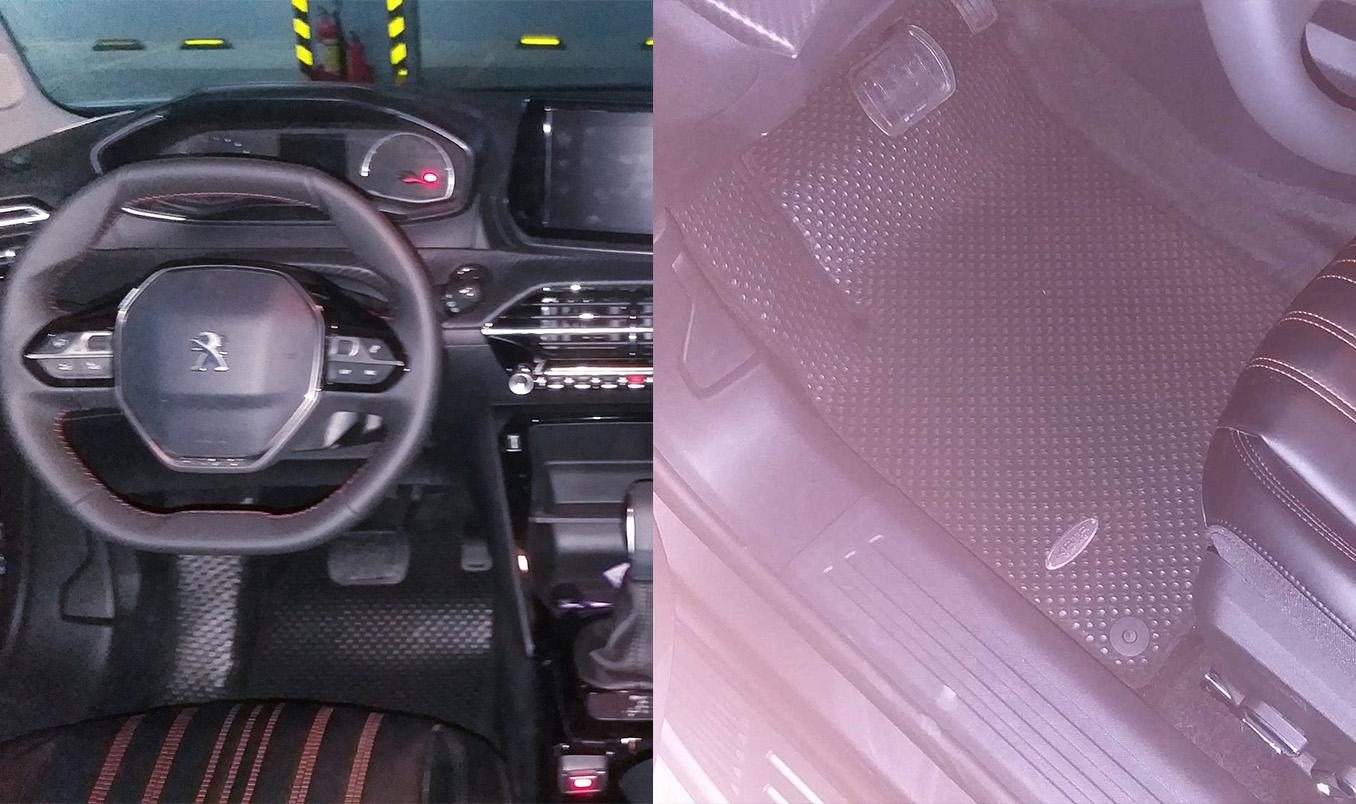 THảm Peugeot 2008 đã lộ diện
