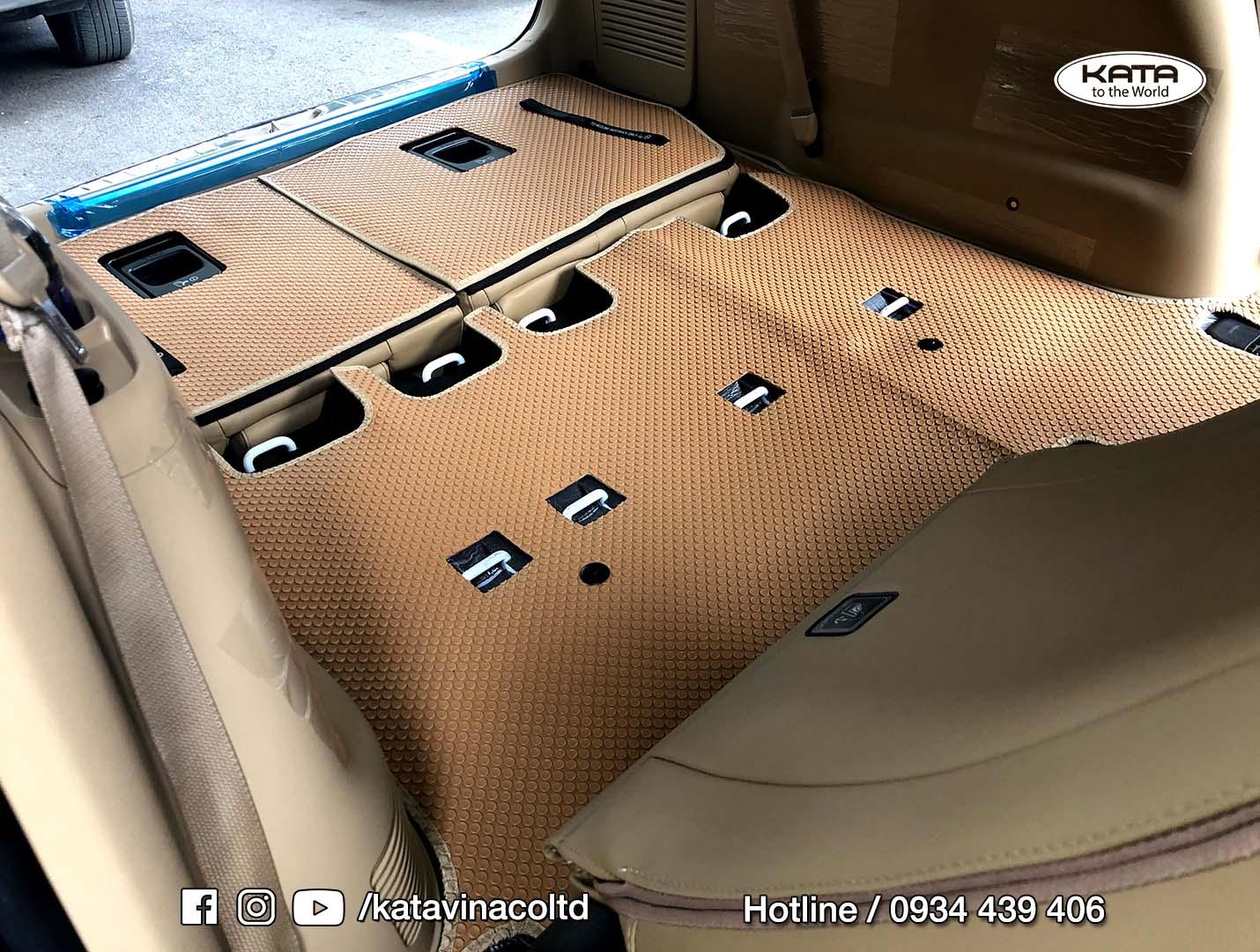 Thảm lót sàn Kia Sedona 2020