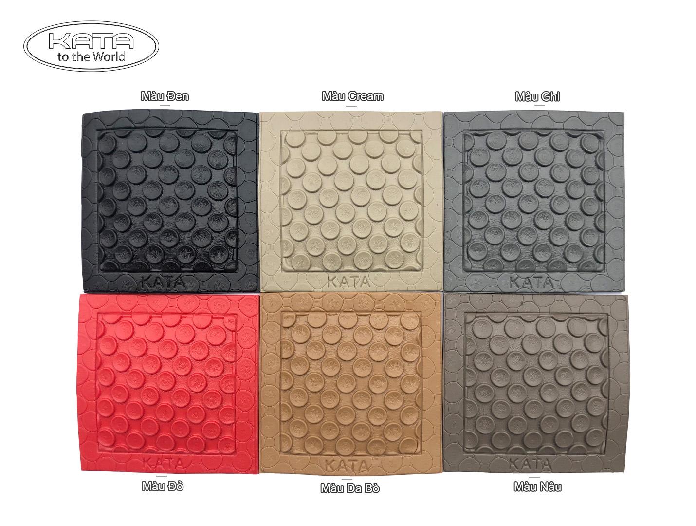 Các màu thảm KATA 2021