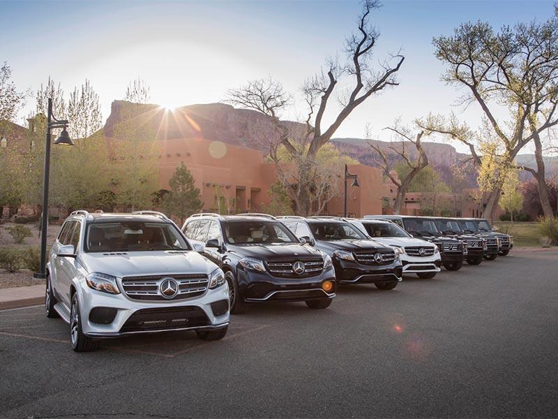 Các xe Mercedes SUV