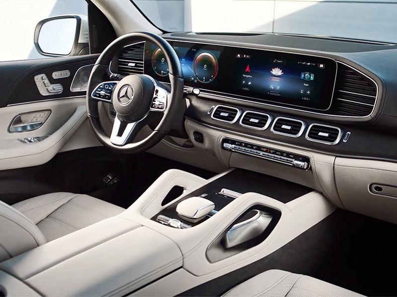 GLS 500 được Mercedes trang bị các tính năng hàng đầu