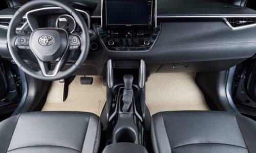 Thảm lót sàn Toyota Cross bản KATA Pro