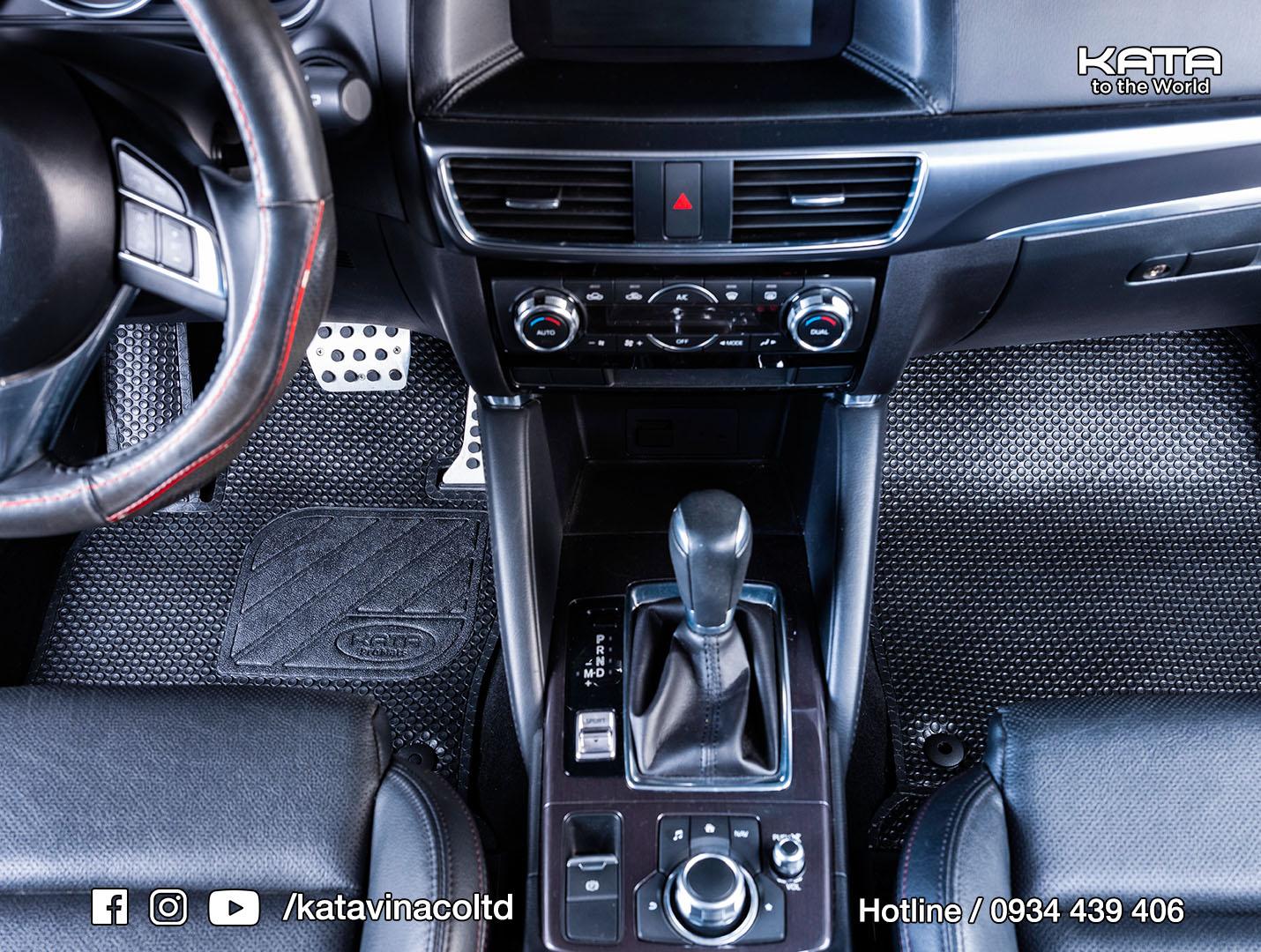 Thảm lót sàn Mazda CX5 bản KATA Pro