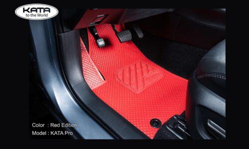 KATAMats – Thảm Ô tô Màu Đỏ