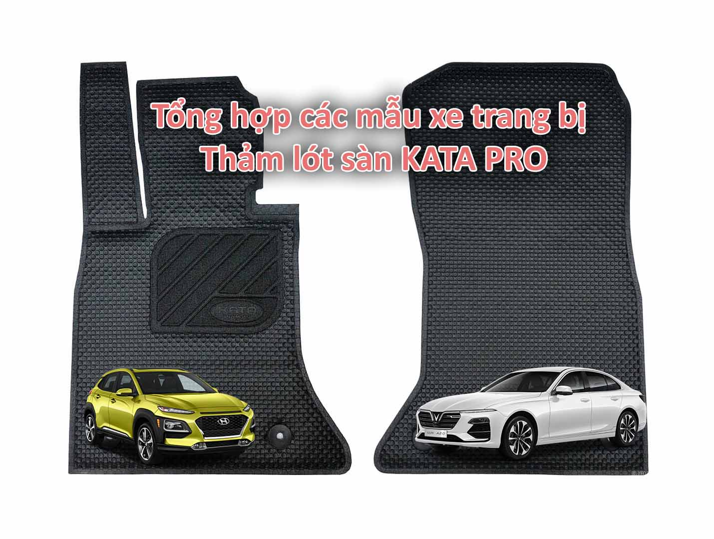 Dòng xe trang bị thảm KATA Pro