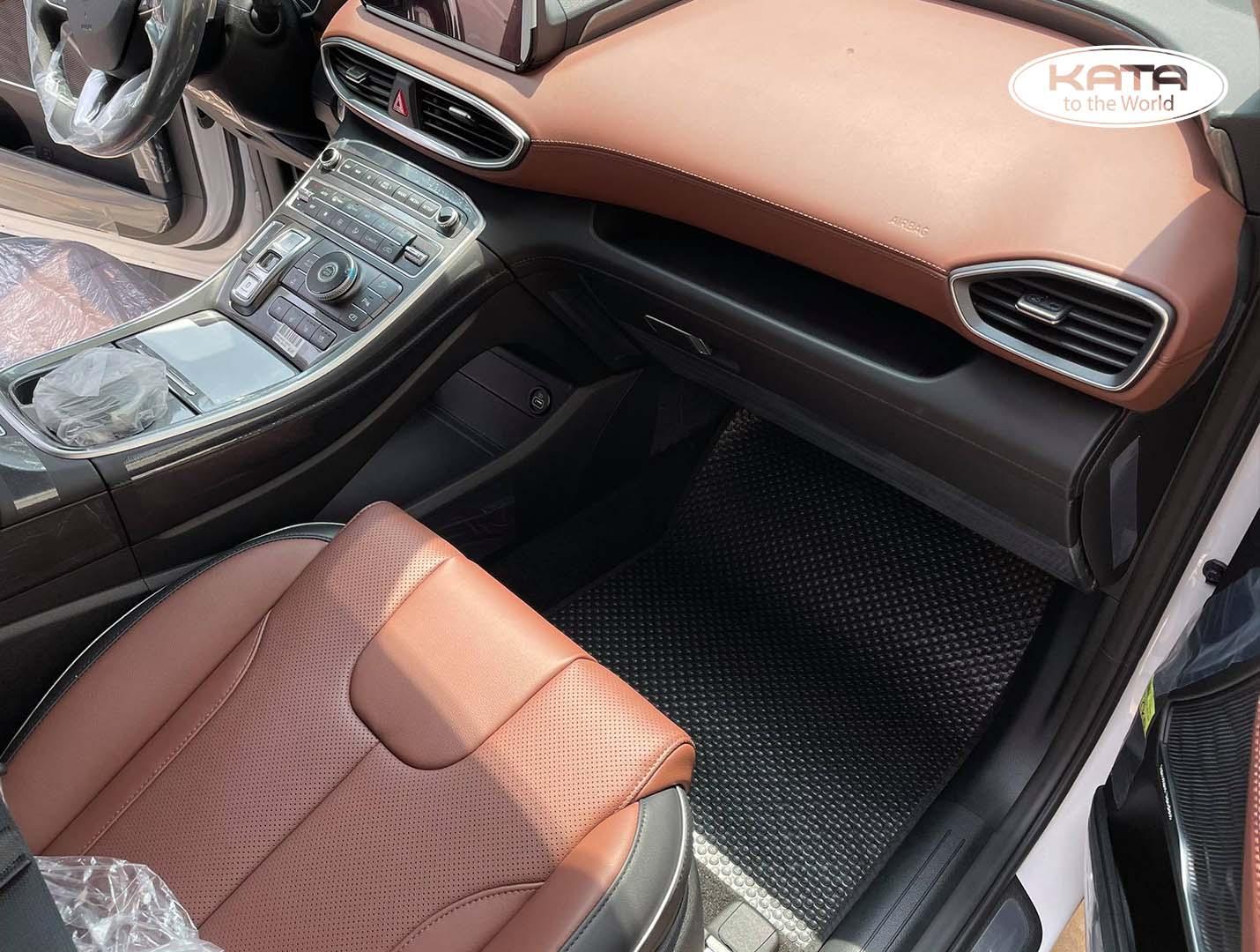 Thảm lót sàn Hyundai SantaFe 2021