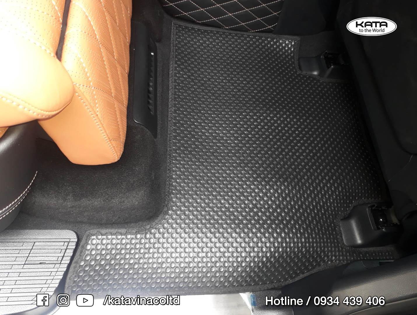 Thảm lót sàn LEXUS LX570 MBS phiên bản 4 chỗ