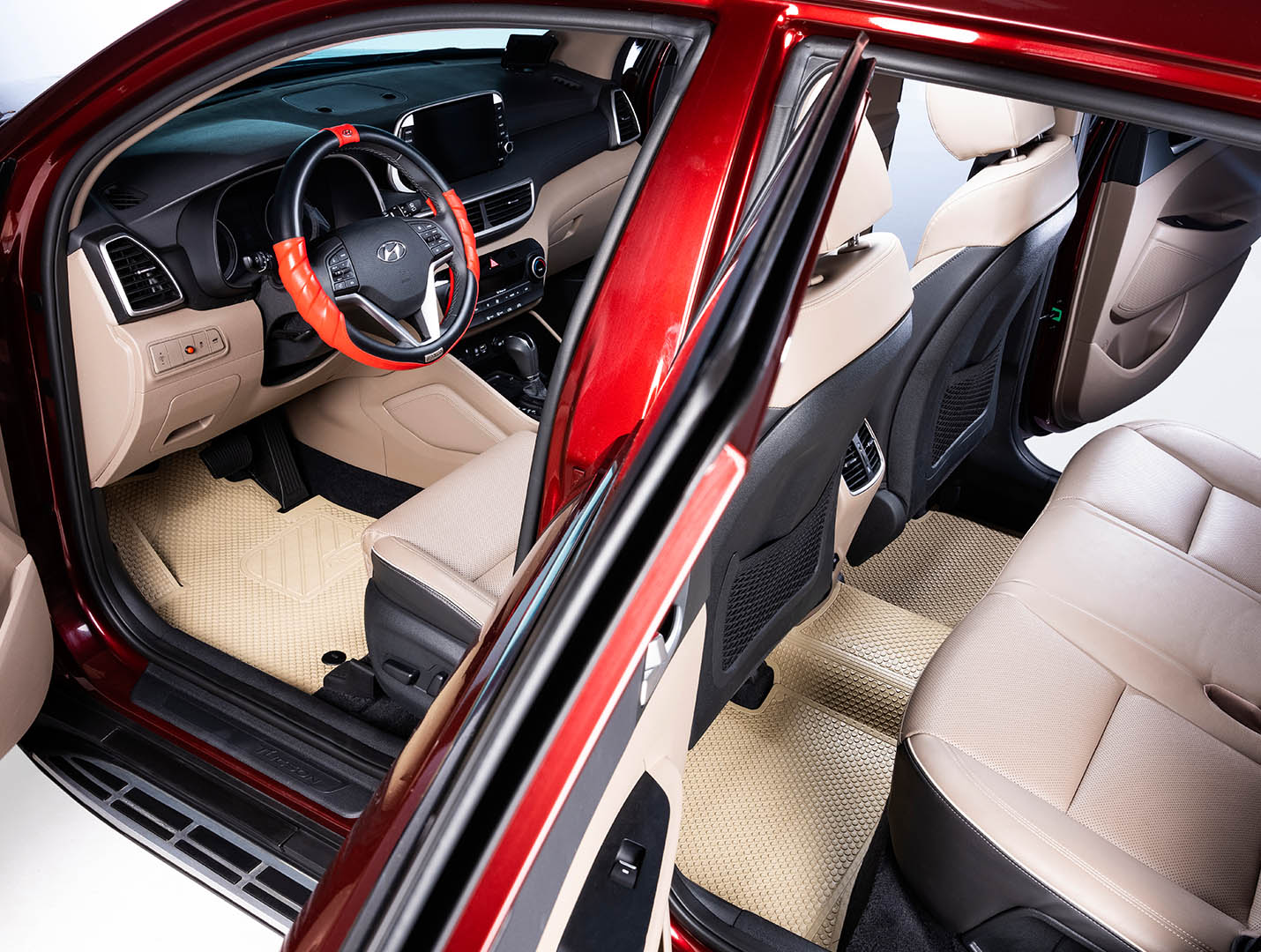 Thảm lót sàn Hyundai Tucson bản KATA Pro