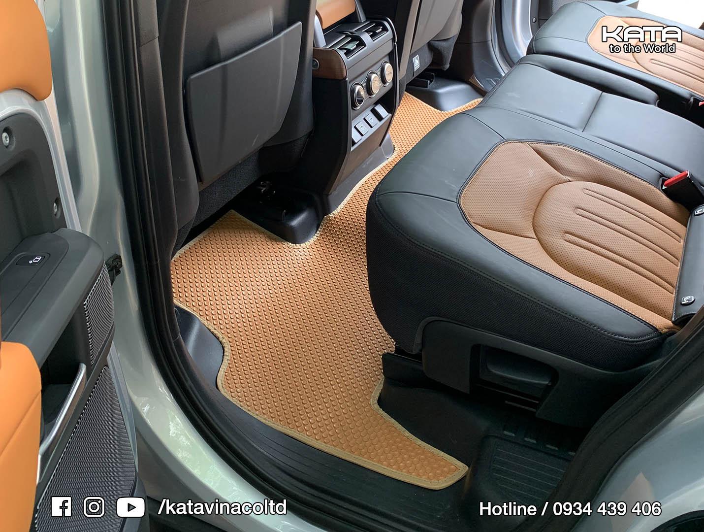 Thảm lót sàn Land Rover Defender 2021