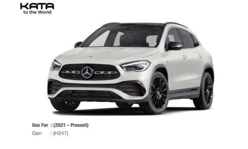Thảm lót sàn Mercedes GLA 2021
