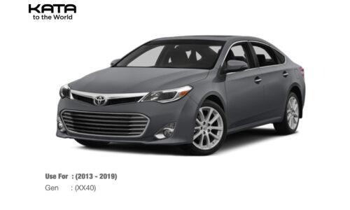 Thảm lót sàn Toyota Avalon (2013-2019)